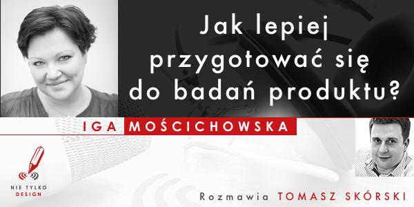 Banner promocyjny ze zdjeciem Igi Mościchowskiej i Tomasza Skorskiego